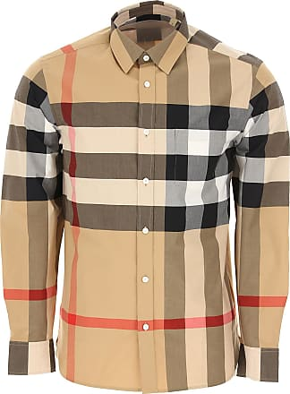 9b49a0e366 Burberry Camicia Uomo On Sale, Cammello, Cotone, 2017, L