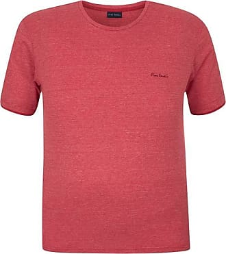 Pierre Cardin Camiseta Plus Size Malha Flame Moline Vermelha 6