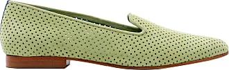 Blue Bird Loafer Saudade de Camurça Verde - Mulher - 35 BR