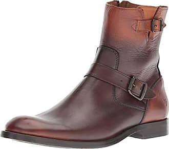 Frye Mens Jacob Engineer Fashion Boot, Cognac, 12 M M US