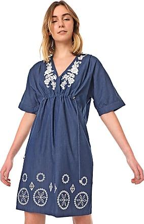Desigual Vestido Desigual Curto Electra Azul
