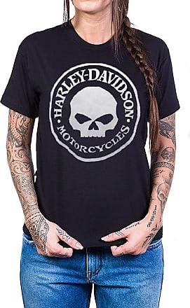 Bandalheira Camiseta Harley Davidson Logo Redondo Com Estampa