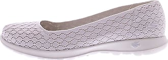Skechers Womens Go Walk Lite-15386 Ballet Flat
