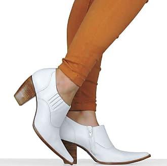 Dina Mirtz Sapato Branco Country Dina Mirtz
