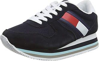 Tommy Jeans Hilfiger Denim RETRO TOMMY JEANS SNEAKER, Womens Low-Top Trainers, Blue (Midnight 403), 6.5 UK (40 EU)