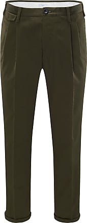 Pantaloni Torino Baumwollhose Style 02 dark olive bei BRAUN Hamburg