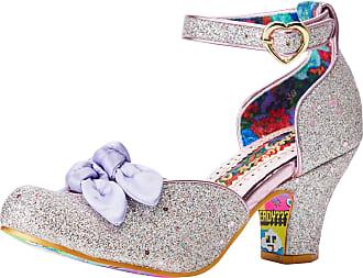 Irregular Choice Womens Flickety Kiss Closed Toe Heels, Pink (Pink B), 6.5 (40 EU)
