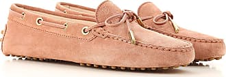 Tod's Loafers for Women On Sale in Outlet, Powder Rose, Suede leather, 2019, 3.5 4.5 5.5 6.5