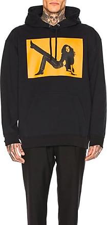 Calvin Klein Icon Print Hoodie in Black