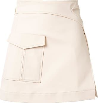 Dion Lee Pocket Interlock Mini skirt - PINK