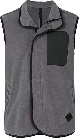 Kent & Curwen sleeveless zip up vest - Grey