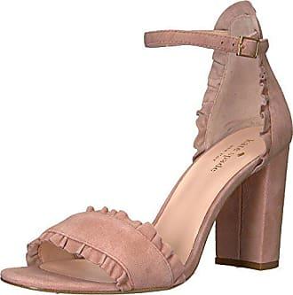 b6f46f207c46 Kate Spade New York Womens Odele Heeled Sandal Dusty Blush 10.5 M US