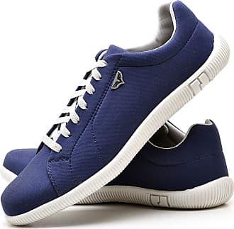 Juilli Sapatênis Sapato Casual Com Cadarço Masculino JUILLI 900DB Tamanho:37;cor:Azul;gênero:Masculino