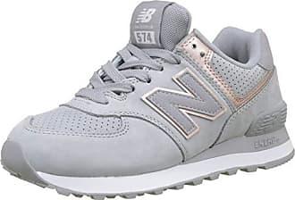 New Balance Damen 574v2 Sneaker, Grau (Arctic Sky Champagne Metallic Nbn), 580ce35bc1