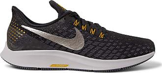 Nike Nike Air Zoom Pegasus 35 Mesh Running Sneakers - Black