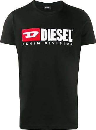 Diesel Camiseta com logo - Preto