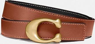 Coach Ceinture réversible avec boucle exclusive, 25 mm - Size L