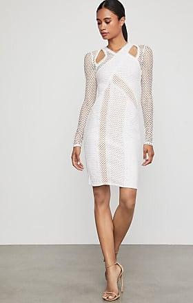 BCBGeneration Jaylynn Mesh Patchwork Dress
