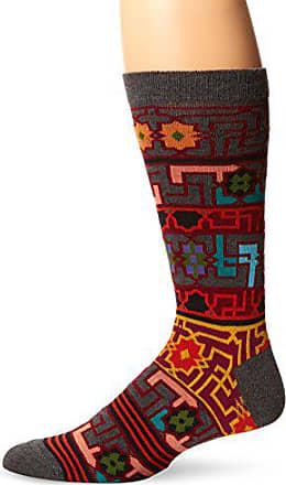 Ozone Mens Byzantine Elements Sock, Grey, Sock Size:10-13/Shoe Size: 6-12