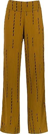 Uma Sugar palazzo pants - Yellow