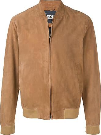Herno regular fit bomber jacket - Brown