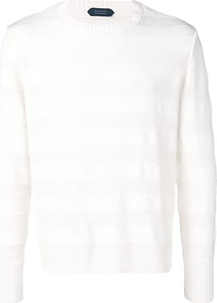 Zanone longsleeved sweater - White