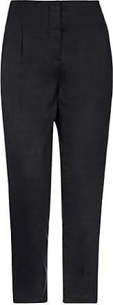 Pantalones Para Mujer De Tela Negro Stylight