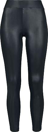 Urban Classics Ladies Imitation Leather Leggings - Leggings - schwarz