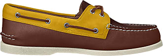 Sperry Top-Sider Sperry Mens A/O 2-Eye Boat Shoe, TAN Multi, 11.5 UK