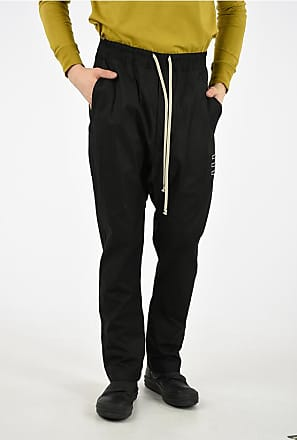 Rick Owens DRKSHDW Cotton DRAWSTRING LONG Pants size L