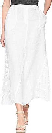 Xcvi Womens Kendall Skirt-101 Linen, White, Medium