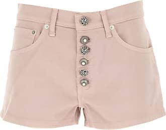 Dondup Shorts for Women On Sale, Pink, Cotton, 2019, 26 27 28 29 30