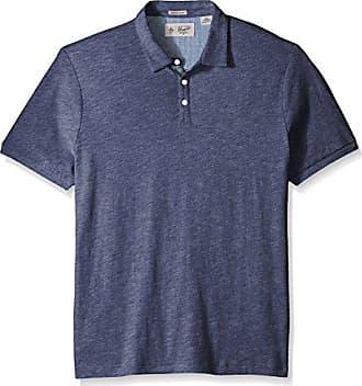 c7bc2c71 Original Penguin Mens Short Sleeve Slub Jersey Polo Shirt, Vintage Indigo,  Small