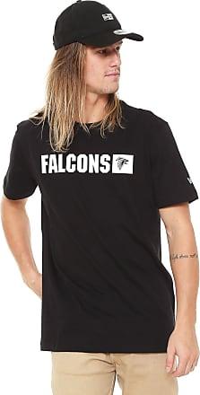 90c73536b8c43 New Era Camiseta New Era Falcons Preta