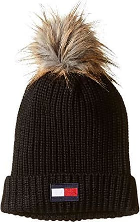 88adeb49 Tommy Hilfiger Womens Beanie, True Black, One Size