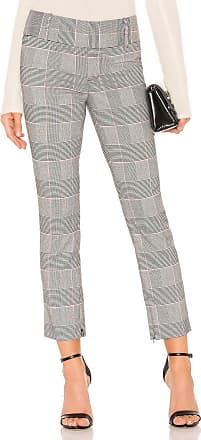Alice & Olivia Stacy Slim Ankle Pant in Gray