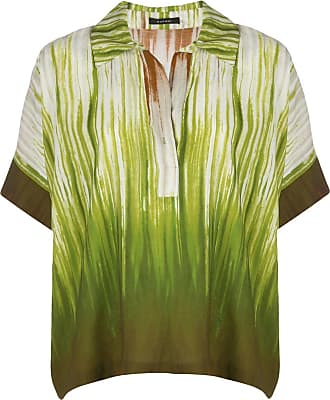 Natori Camisa com estampa abstrata - Verde