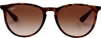 Ray-Ban Óculos de Sol Retangular Tartaruga - Mulher - Único US