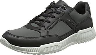 Ecco Mens Luca Modern Fashion Sneaker, Moonless/Dark Shadow, 44 EU/10-10.5 M US
