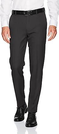 Van Heusen Mens 505M128 Dress Pants, Black, 38W x 34L