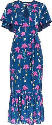 Borgo De Nor Vestido Margarita floral - Azul