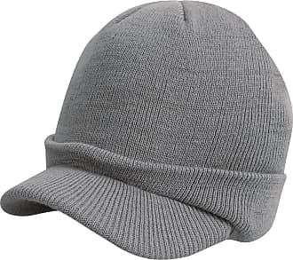 Result Unisex Esco Army Knitted Winter Hat (One Size) (Cool Grey)