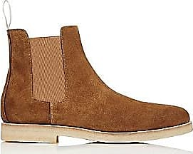 Common Projects Mens Chelsea Boots - Amber Size 9 M