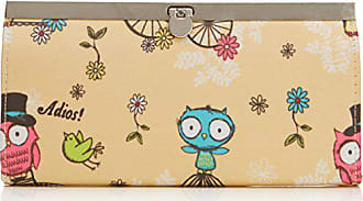5ee6042e12ee9 Swankyswans Damen Pembleton Owl Metal Clasp Wallet Geldbörse