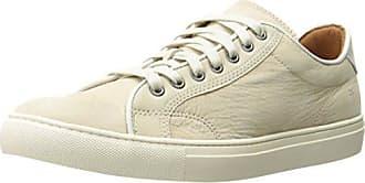 Frye Mens Walker Low Lace Fashion Sneaker, Ivory, 7 D US
