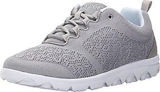 Propét Propet Womens TravelActiv Sneaker, Silver, 8.5 XX-Wide