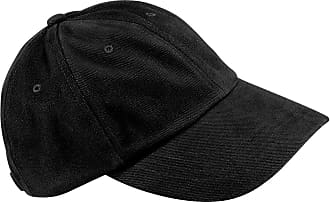 Beechfield Low profile heavy brushed cotton cap COLOUR Black ONE SIZE