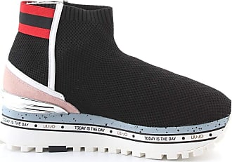 Liu Jo Fashion Woman BXX057TX02222222 Black Polyester Slip On Sneakers | Spring Summer 20