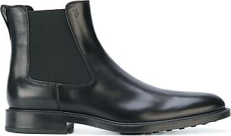 Tod's Ankle boot Chelsea de couro - Preto