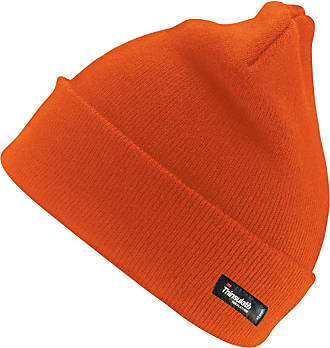 Result Woolly Ski Hat with 3M Thinsulate Insulation, Hi Vis Orange, One Size